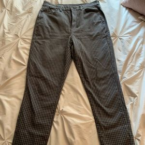 Checkered Next Level High-Rise Jeggings